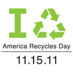 Green Team Celebrates America Recycles Day