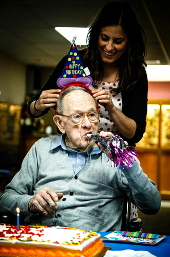 Bob Hilgers 105 year old