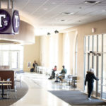 T's Cafeteria at the Anderson Student Center after classes moved online. Mark Brown/University of St. Thomas