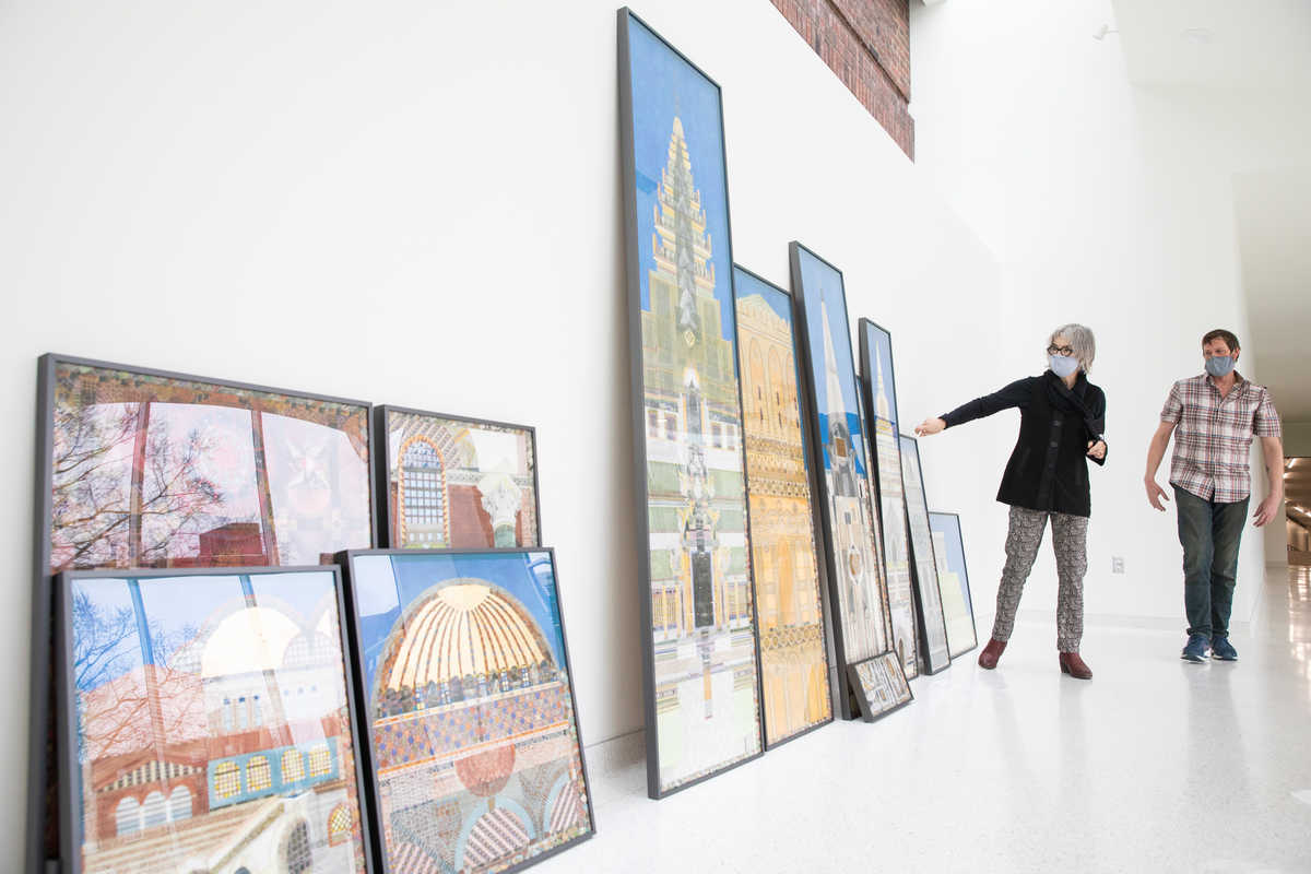 'Tell Me a Story' Art Installation Showcases Interfaith Architecture